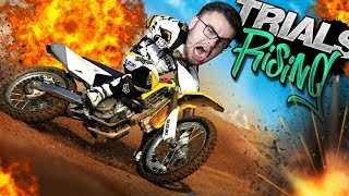 Attempting the MOST EXTREME Dirt Bike STUNTS | Trials Rising