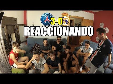 REACCION PSG 3-0 REAL MADRID | PARRAS