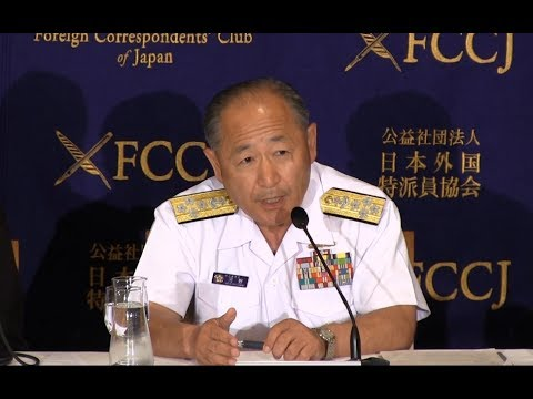 Admiral Katsutoshi Kawano: update on Japan's National Security issue
