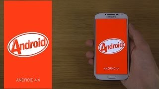 Repeat youtube video Samsung Galaxy S4 Android 4.4 KitKat - Review