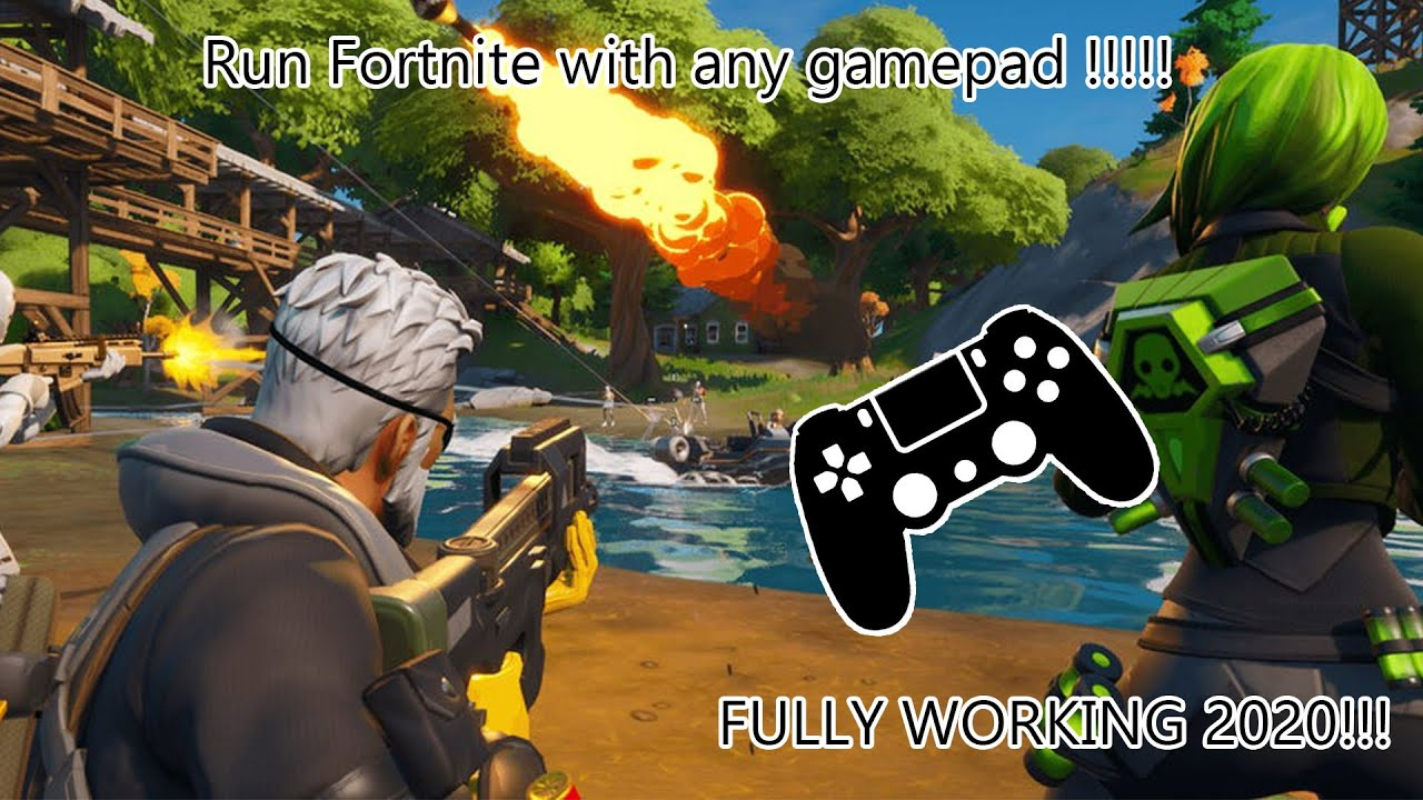 How To Play Fortnite With Any Gamepad/Joystick/Controller