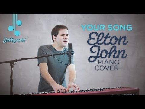 Your Song by Elton John - Jellynote Piano Cover - Nicholas Wells