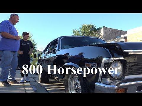 800 Horsepower -1968 Chevy Nova SS - Uses Slicks Everyday