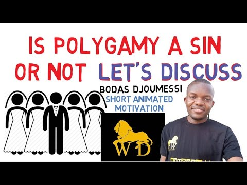 IS POLYGAMY RIGHT OR WRONG - QUESTION OF THE DAY By Bodas Djoumessi (QOTD)