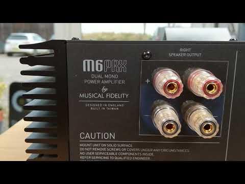 Musical Fidelity - M6 PRX Power Amplifier
