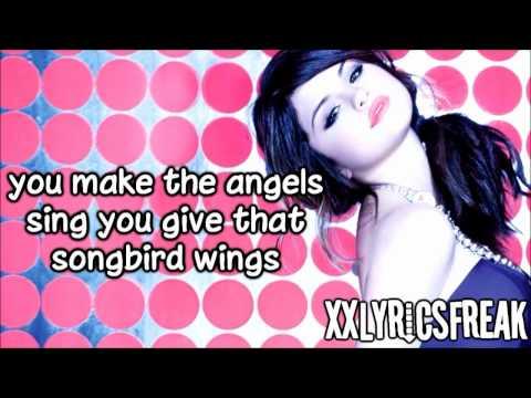 Selena Gomez-I Promise You (Lyrics Video)