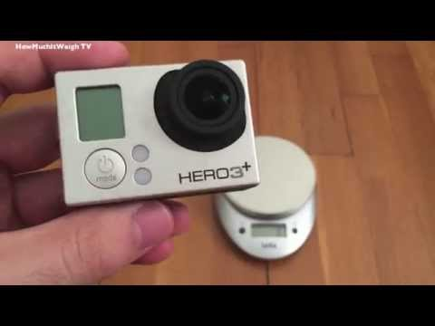How Much Does The GoPro Hero 3+ Silver Weigh?