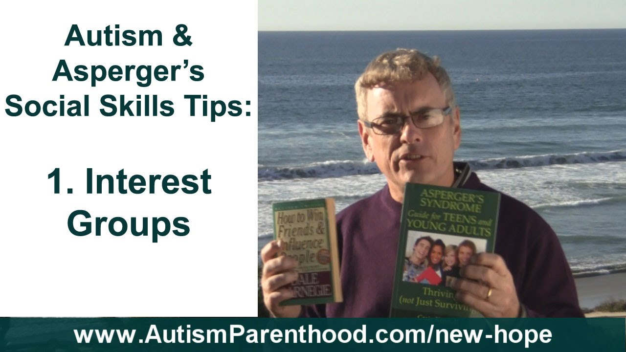 adults Social skills aspergers young for with