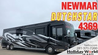 Check out the new 2019 NEWMAR DUTCHSTAR 4369
