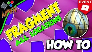 🔥 HOW TO GET THE STAINED GLASS EGG - All 8 Fragments + Golden Wing Tutorial ROBLOX Egg Hunt 2018