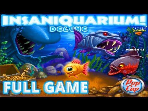 Insaniquarium Deluxe - Full Game 1080p60 HD Walkthrough - No Commentary