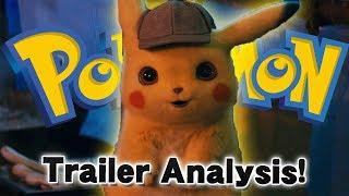 Pokemon Detective Pikachu! Movie Trailer Analysis!