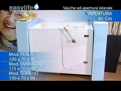 Vasche Da Bagno Easy Life Prezzi : Easy life vasche con porta youtube