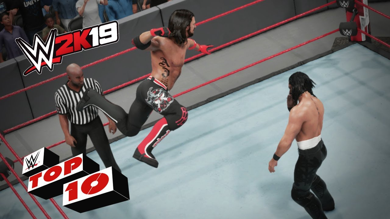Shocking Springboard Maneuvers: WWE 2K19 Top 10