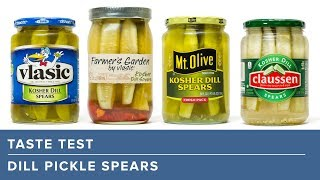 Our Favorite Store Bought Dill Pickle Spears