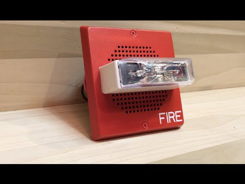 Review Of The Wheelock CH-70-24MCW Fire Alarm Chime/Strobe