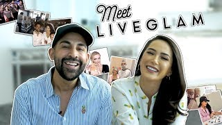 Meet LiveGlam Owners Dhar and Laura