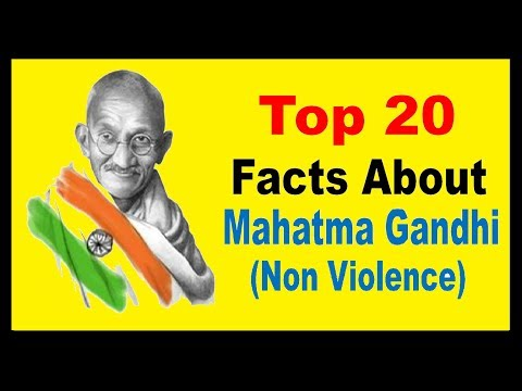 Mahatma Gandhi | International day of non violence - Unknown Facts