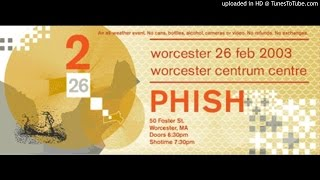 "Phish - ""The Moma Dance"" (Worcester Centrum, 2/26/03)"