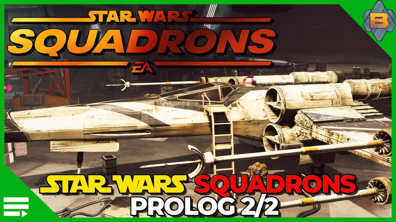 Star Wars Squadrons deutsch Prolog 2/2 (Episode 2) HOTAS Gameplay