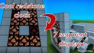 All Video Minecraft 7 Segment Display 1 8