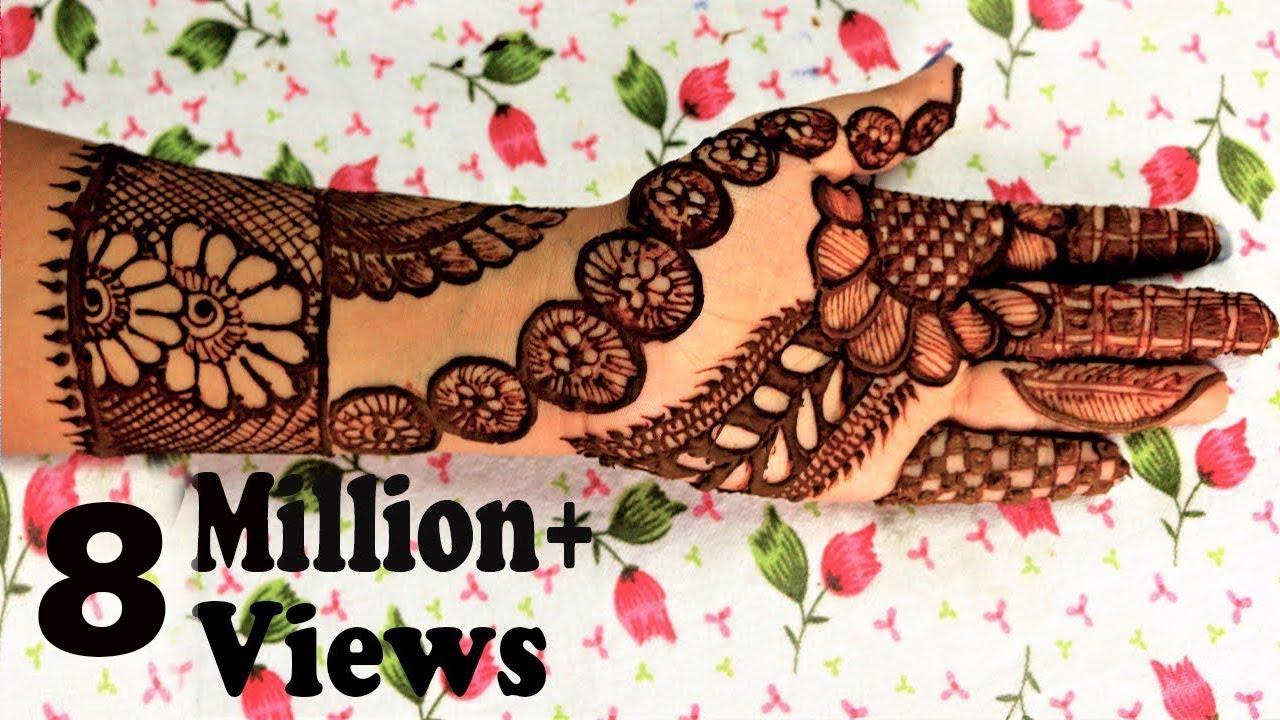 Henna Mehndi Latest Design : Latest henna mehndi designs arabic d by