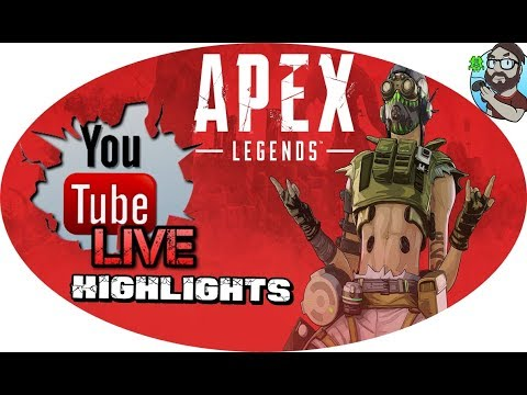 APEX LEGENDS Stream Highlights #001 (YOUTUBE HIGHLIGHTS)