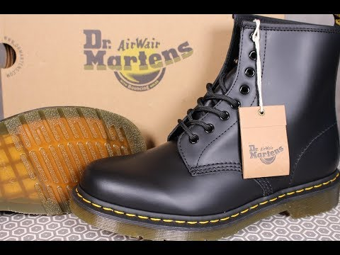 DR MARTENS Classic 1460 Boot Black *First Impressions*