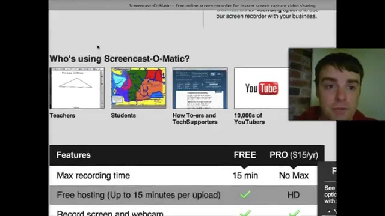 Screencast-o-matic Version 1 - Screencasting Software Review - YouTube