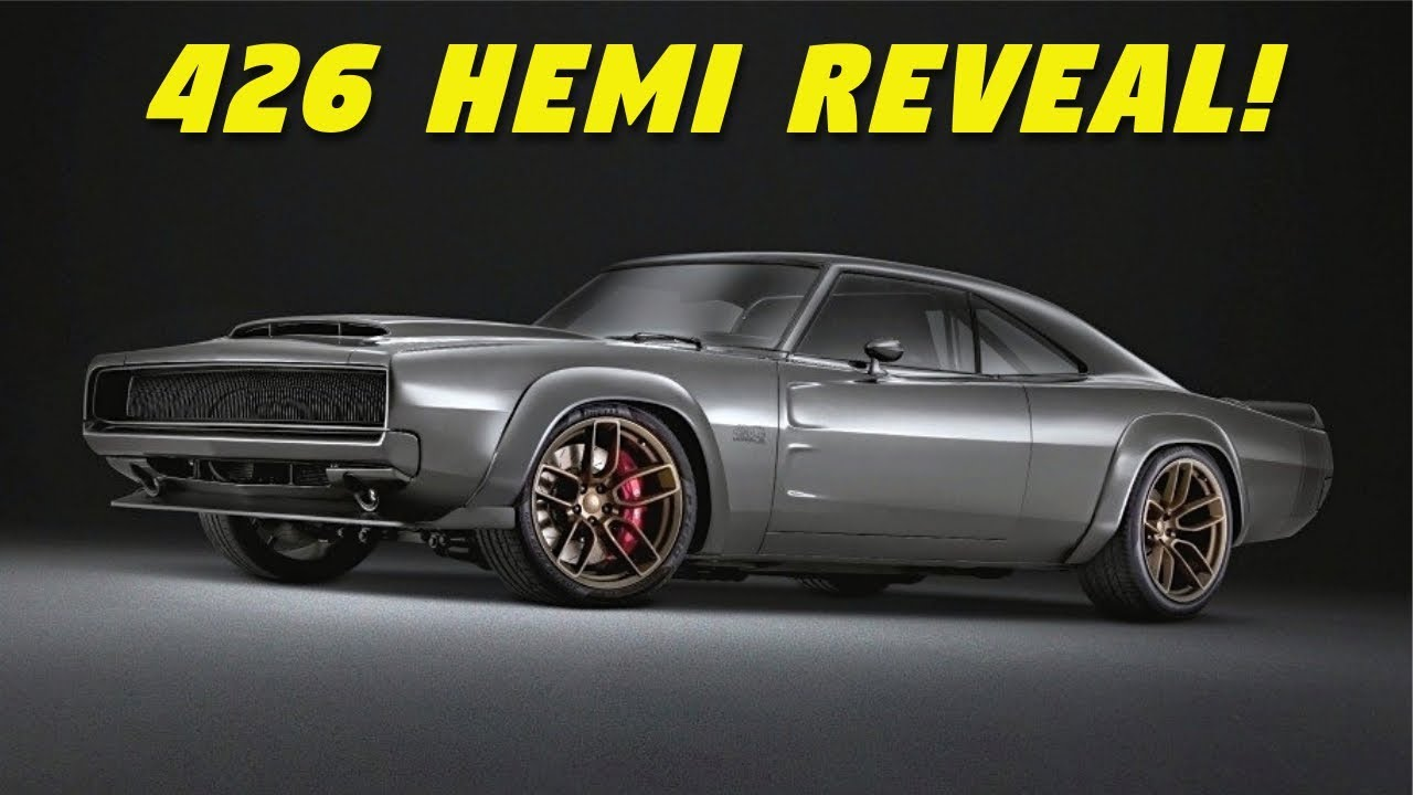 Dodge Charger Hp >> 426 Hemi Engine Finally Revealed! + Dodge Super Charger
