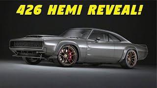 426 Hemi Engine Finally Revealed! + Dodge Super Charger Concept – 1000 HP!