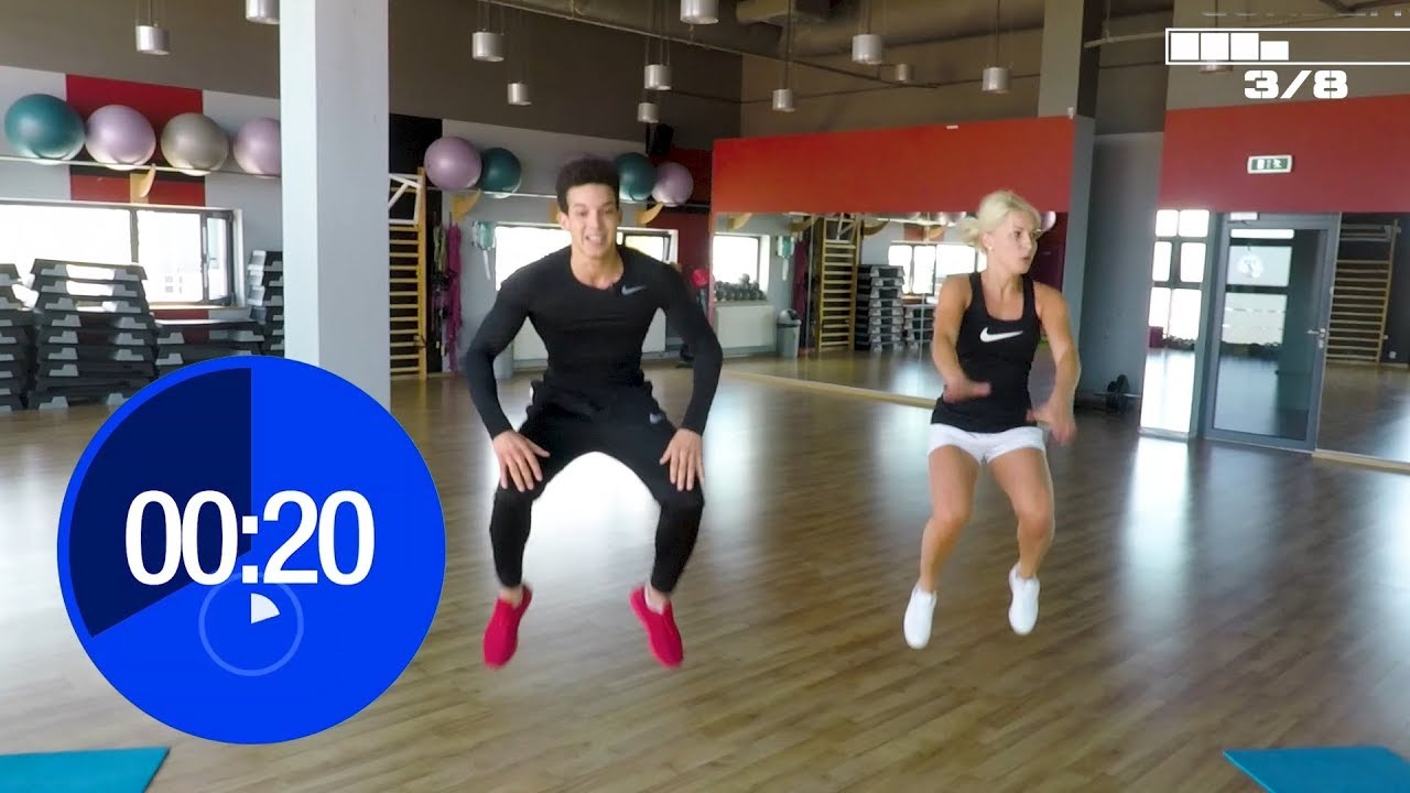 Download Fat Burning : 20 MINUTES FULL WORKOUT | insanity program | Ep 1