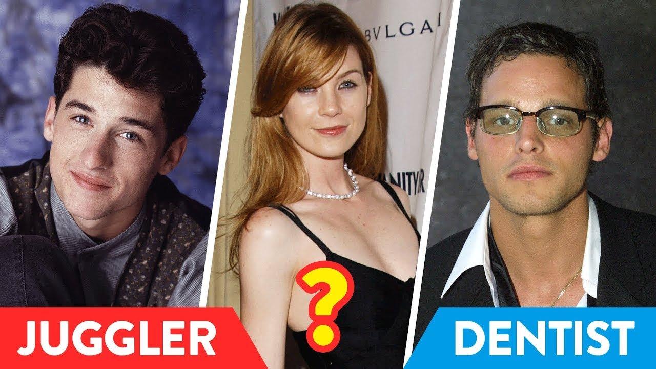 Што правеле ѕвездите на Grey's Anatomy пред да станат славни?