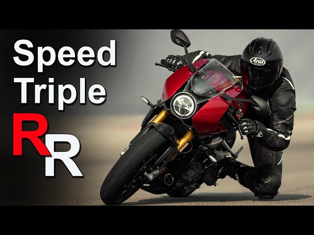 2022 Triumph Speed Triple RR   New Cafe Racer   Price & Availability