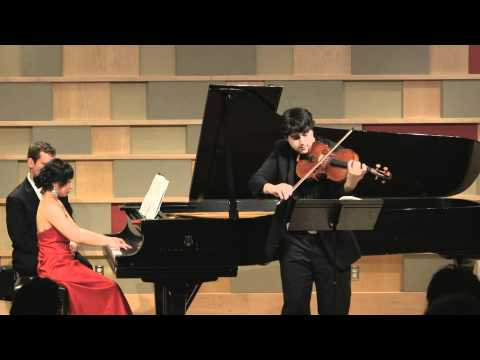 Paul Laraia and Hanwen Yu plays Rachmaninov Sonata (SiMon)