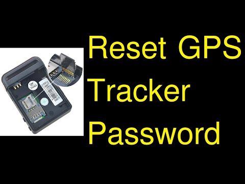 Reset GPS tracker password - forgot password