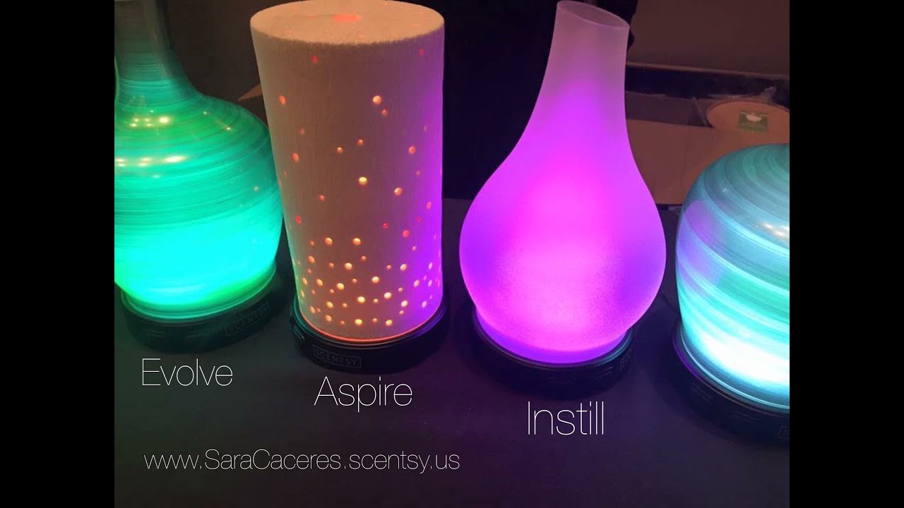 Scentsy Diffuser - In Action! - YouTube
