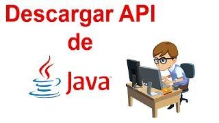 Descargar API de JAVA