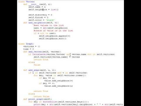 dfs python algorithm