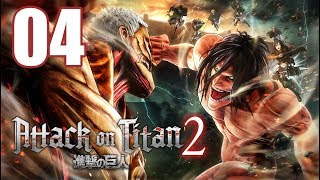 Attack on Titan 2 - Gameplay Walkthrough Part 4: First Battle