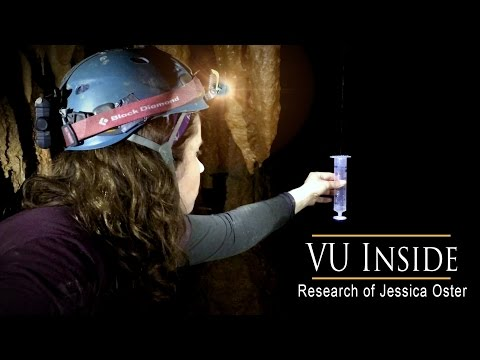 VU Inside: Professor Explores Caves for Clues to Climate Change