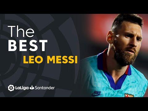 TOP 25 GOALS Lionel Messi en LaLiga Santander