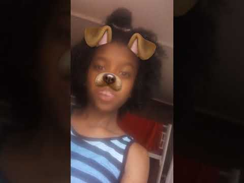 Snapchat video jus being my cute self