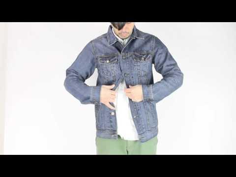 FOURSTAR デニムジャケットの着用ムービー
