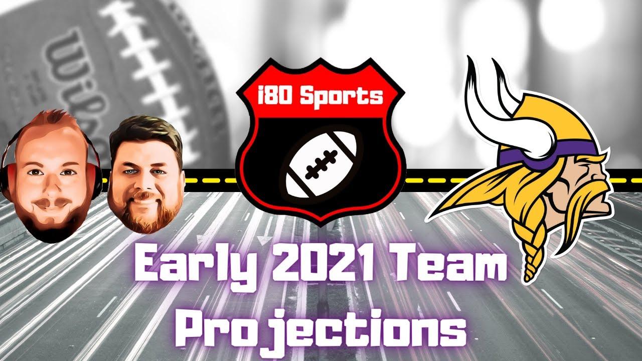 Early 2021 NFL Projections- Minnesota Vikings