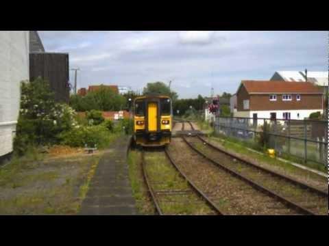 153314 departs Woodbridge for Saxmundham