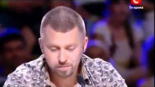 Ukraine X Factor 2 Season Vladislav Kurasov (sings a song Céline Dion - My Heart Will Go On)