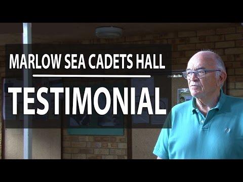 PVC Floor Tiles Installation   Hall installation   Marlow Sea Cadets   Testimonial