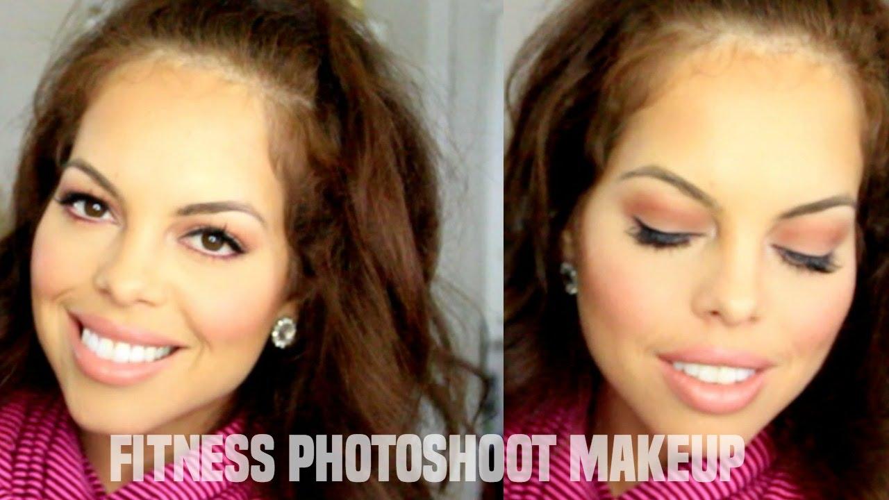 Bodybuilding fitness photoshoot makeup tutorial youtube baditri Images
