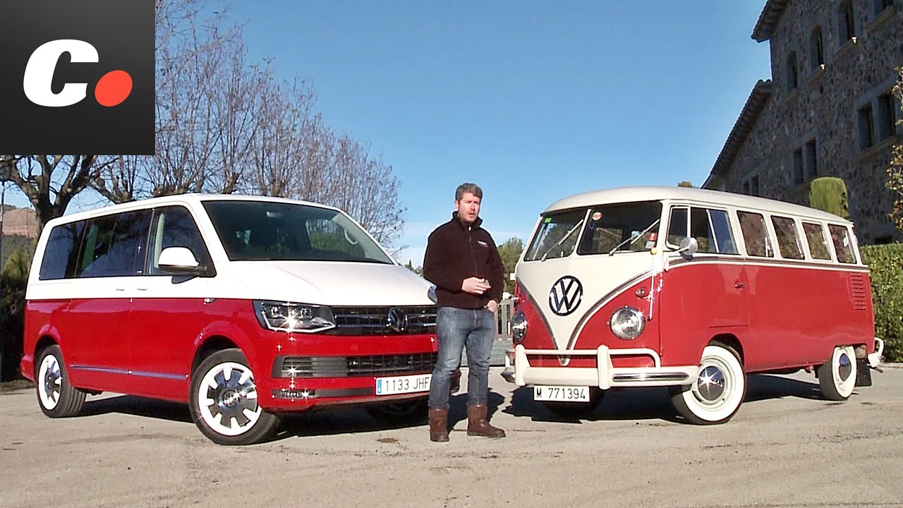 volkswagen multivan t6 vs t1 prueba an lisis test. Black Bedroom Furniture Sets. Home Design Ideas